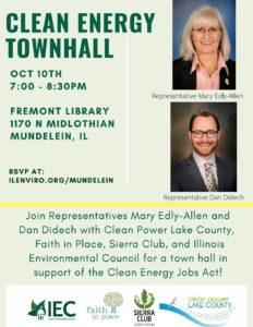 Clean Energy Townhall @ Fremont Public Library | Mundelein | Illinois | United States